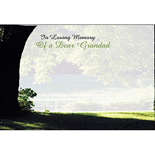 Funeral & in Loving Memory Floristry Message Cards Flowers and Floral Tributes (in Loving Memory of a Dear Grandad) from Smithers Oasis