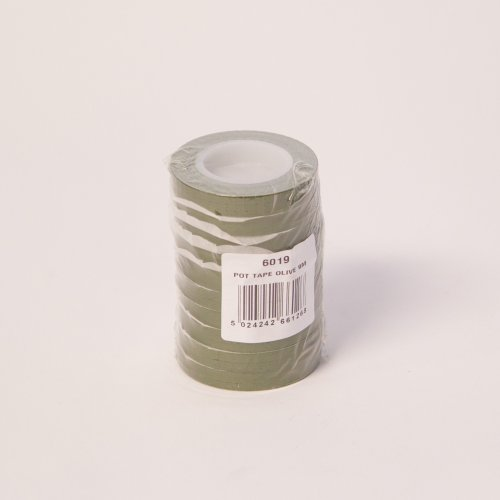 Olive Green Pot Tape 9mm x 10 metre Roll from Smithers Oasis