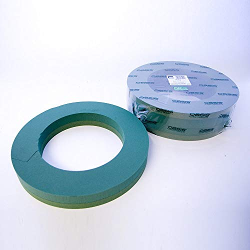 "Pack of 2 Oasis Foam Wreath Rings 16"" (41cm) from Smithers Oasis"