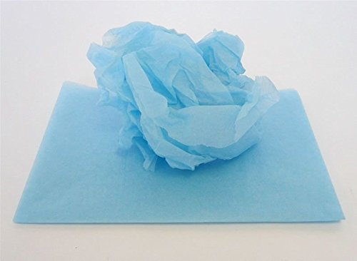 Tissue Paper 48 Sheets Roll Floristry & Crafts (Light Blue) from Smithers Oasis