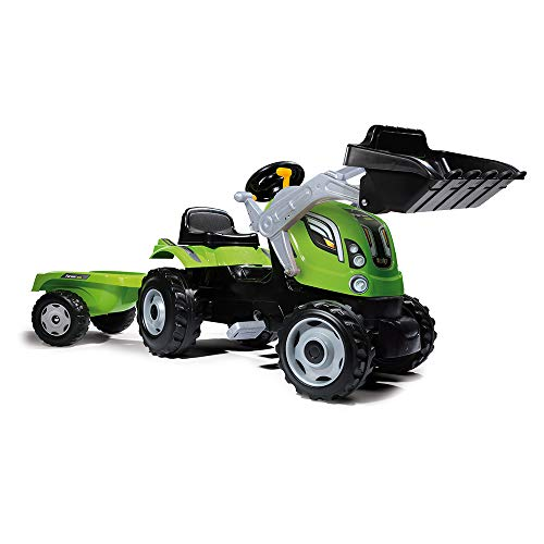 "Smoby 7600710109 ""Farmer Loader Ride On Tractor (X-Large) from Smoby"