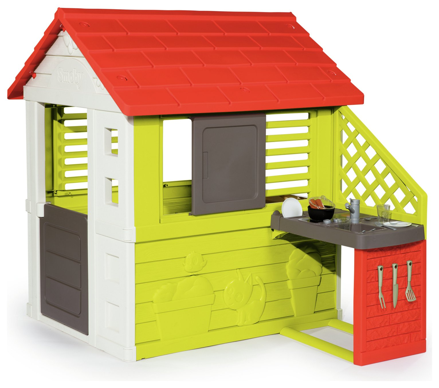 Smoby Nature Playhouse with Kitchen from Smoby