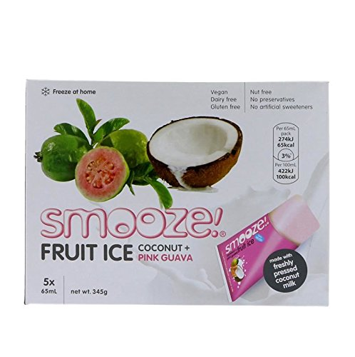 Smooze | Pink Guava & Coconut Fruit Ice | 3 x 5 x65ml from Smooze