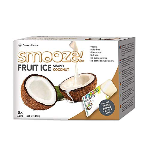Smooze Simply Coconut Fruit Ice 65 ml (Pack of 6) from Smooze