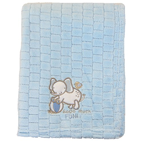 Snuggle Baby Elephant Baby Wrap, Sky Blue from Snuggle Baby