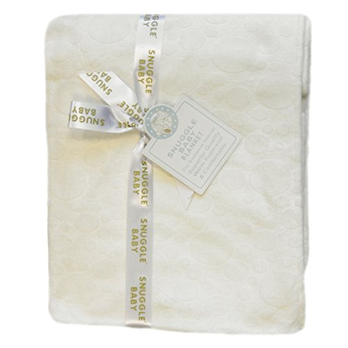 Snuggle Baby Embossed Baby Blanket, Cream, Moses/Crib/Pram from Snuggle Baby