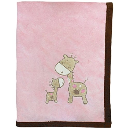 Snuggle Baby Giraffe Baby Blanket, Pink, Moses/Crib/Pram from Snuggle Baby