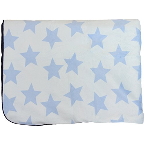 Snuggle Baby Star Baby Blanket, Sky Blue, Moses/Crib/Pram from Snuggle Baby