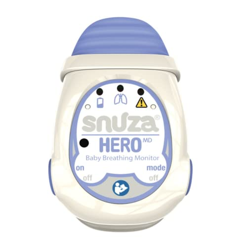Snuza Hero MD (Medically Certified) Portable Baby Breathing Monitor from Snuza
