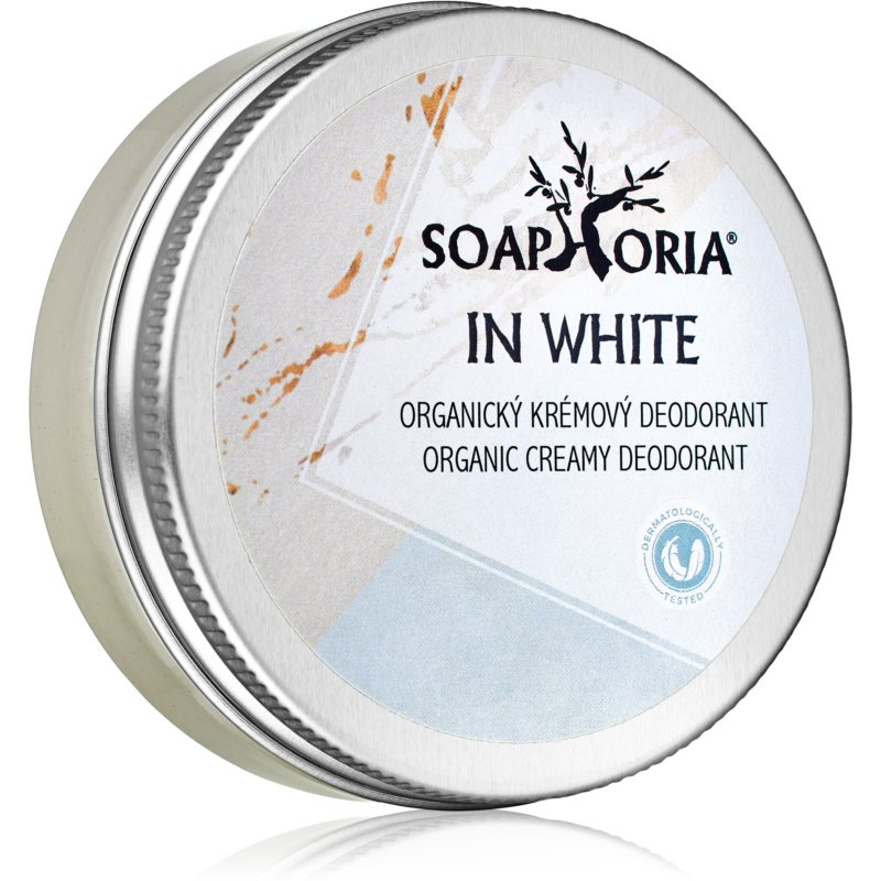 Soaphoria In White Organic Cream Deodorant for Women 50 ml from Soaphoria