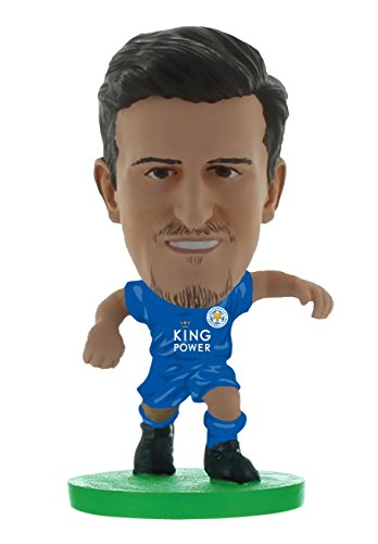 SoccerStarz SOC1197 Leicester Harry Maguire Home Kit Classic Figure from SoccerStarz