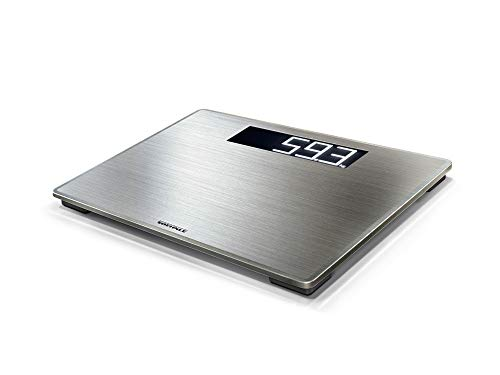 Soehnle Style Sense Safe 300 Electronic Bathroom Scale, Stainless Steel Platform, XL easy read digits, Auto on off, Metric or Imperial from Soehnle