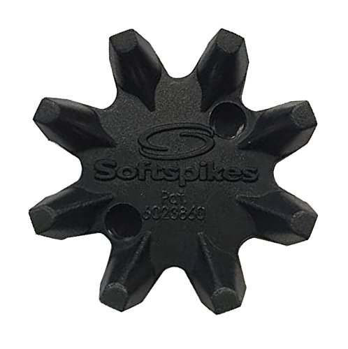Softspikes Black Widow Golf Cleats (Q-Lok),18 Count Kit from Soft Spikes