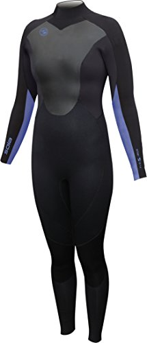 Sola Women's Star 5/4 Fullsuit, Periwinkle, Size 8 from Sola