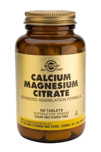 Calcium Magnesium Citrate Tablets - 100 from Solgar