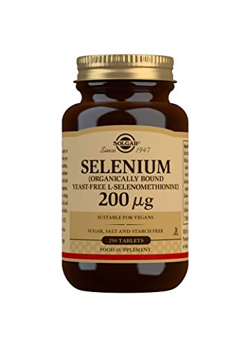 Solgar 200g Yeast-Free Selenium Tablets - Pack of 250 from Solgar