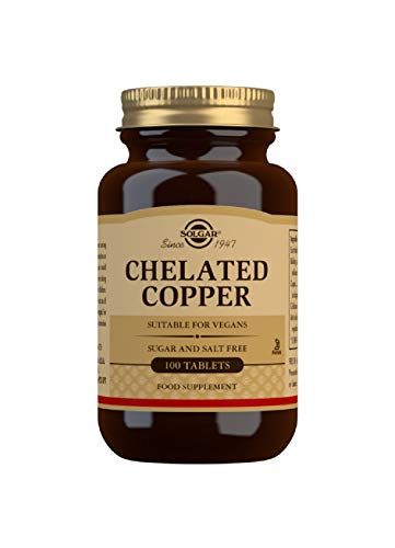 Solgar Chelated Copper Tablets - Pack of 100 from Solgar