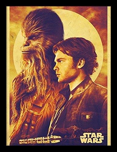 Solo: A Star Wars Story Memorabilia, Wood, Multi-Colour, 30 x 40 cm from Solo: A Star Wars Story
