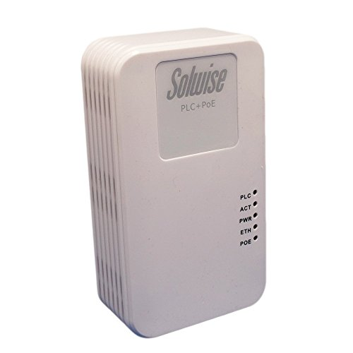 1200AVA wall Homeplug with 802.3AT POE from Solwise