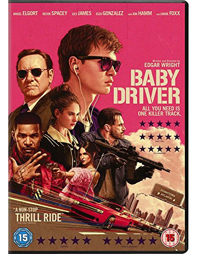 Baby Driver [DVD] [2017] from Sony Pictures Home Entertainment