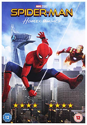 Spider-Man Homecoming [DVD] [2017] from Sony Pictures Home Entertainment