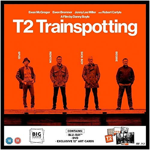 T2 Trainspotting [Blu-ray] [2017] from Sony Pictures Home Entertainment