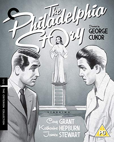 The Philadelphia Story [The Criterion Collection] [Blu-ray] [1998] [Region Free] from Sony Pictures Home Entertainment
