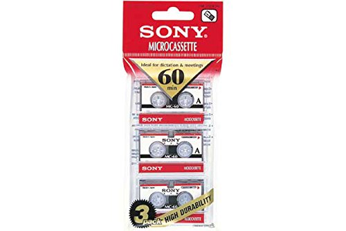 Sony 3-Pack 60min Micro Cassette from Sony