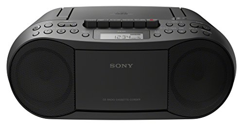 Sony CFDS70B.CEK  Classic CD and Tape Boombox with Radio - Black from Sony