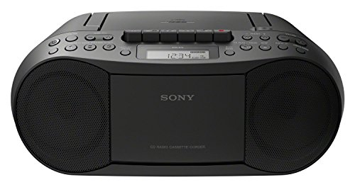 Sony CD/Cassette Player Black 2x 1.7W RMS Output CD-R/RW Compatible - CFDS70B.CEK (TV & Audio > Home Audio) +}a from Sony