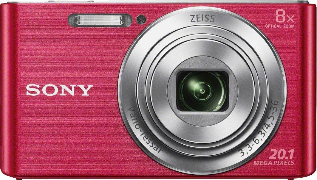 Sony - Cybershot W830 20MP 8x - Zoom - Compact - Digital Camera-Pink from Sony