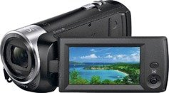 Sony - HDR CX240 Full HD Camcorder - Black from Sony