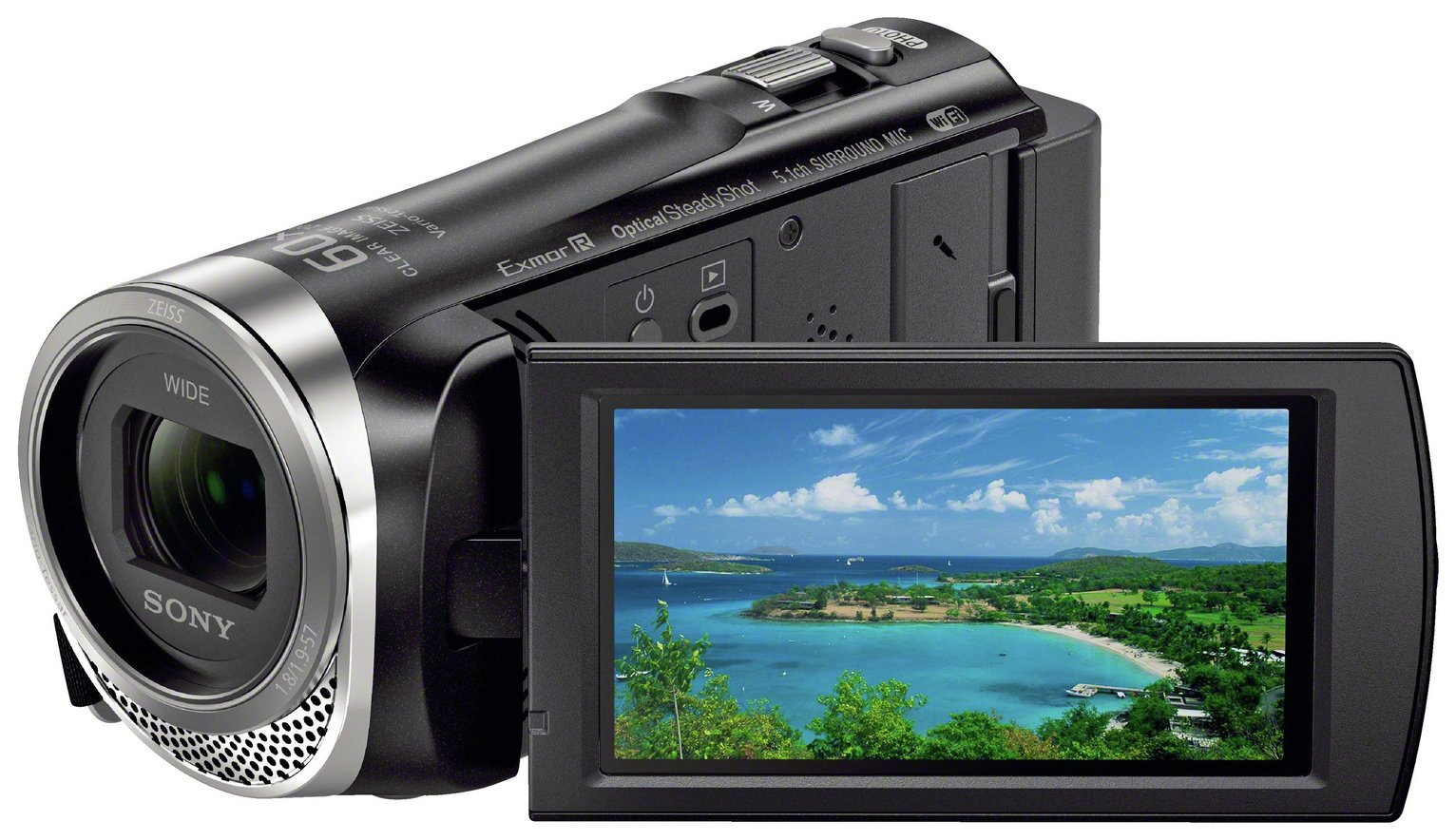Sony - HDR-CX450 Camcorder - Black from Sony
