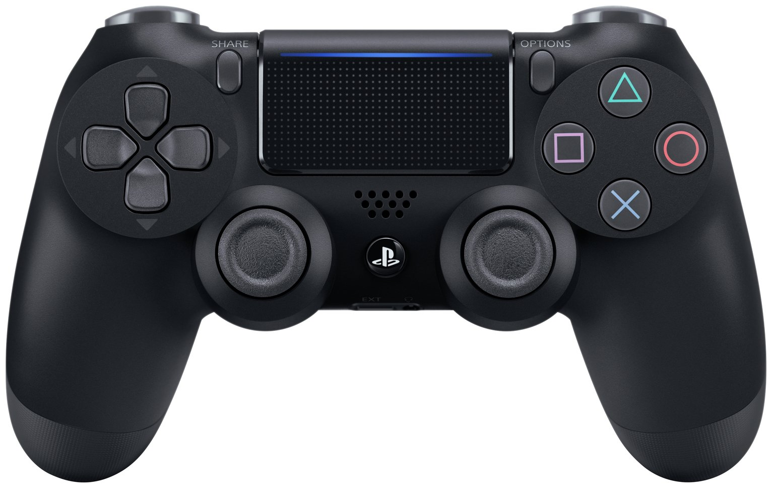 Sony - PS4 - Official DualShock 4 Controller V2 - Black from Playstation