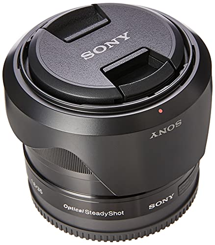 Sony SEL35F18 E Mount APS-C 35 mm F1.8 Prime Lens - Black from Sony