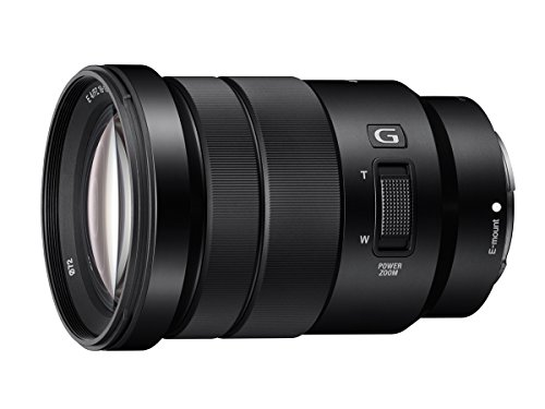 Sony SELP18105G E Mount APS-C 18-105 mm F4.0 Zoom G Lens - Black from Sony
