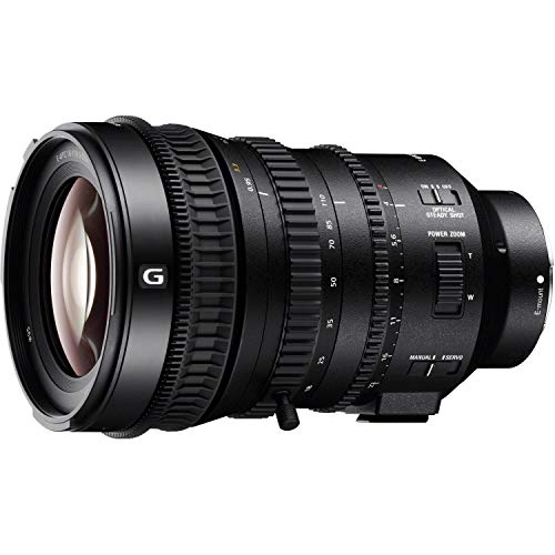 Sony SELP18110G E Mount Full Frame 18 - 110 mm F4 Power Zoom G-Lens, black from Sony