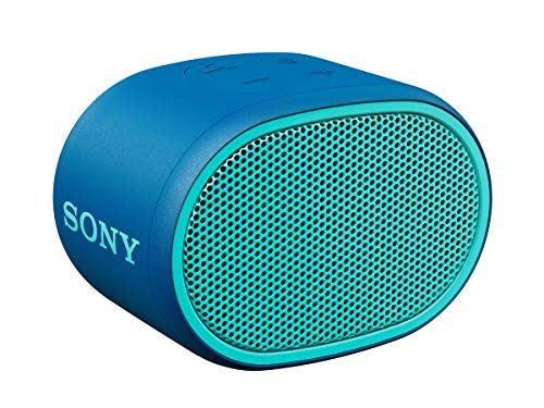 Sony SRS-XB01 Compact Portable Water Resistant Wireless Bluetooth Speaker with Extra Bass - Blue from Sony