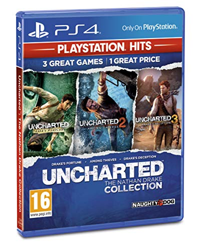 Uncharted Collection PlayStation Hits (PS4) from Sony