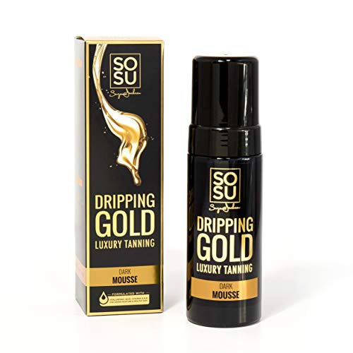 SoSu By SJ Dripping Gold Luxury Tanning Dark Mousse from SoSu By SJ