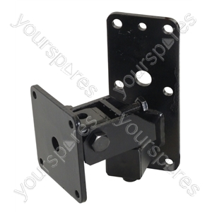 Heavy Duty  Speaker Wall Bracket with Tilt and Turn - Colour Black from SoundLAB