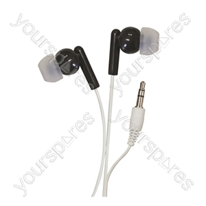 In-Ear Stereo Earphones - Colour Black from SoundLAB