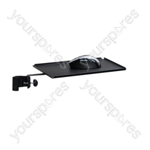 Mouse Shelf with Stand Clamp from SoundLAB