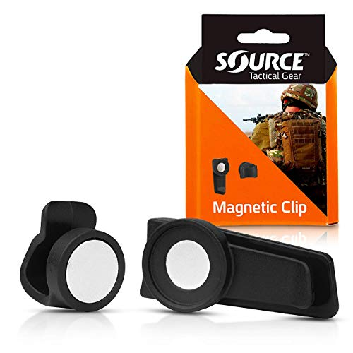 Source Tactical Gear Magnetic Tube Clip (Black) from Source Tactical