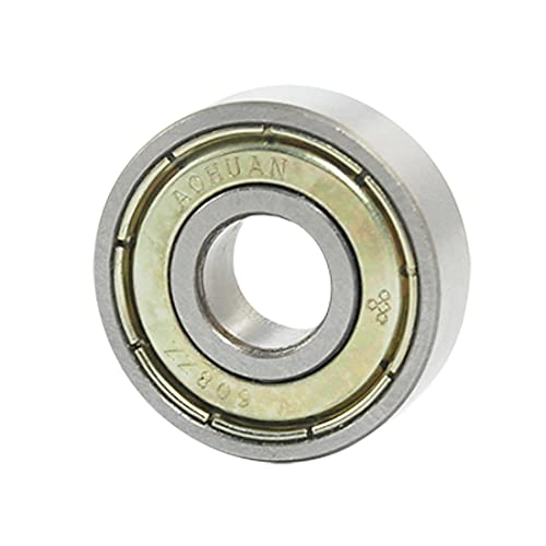 sourcingmap 608Z 8mm x 22mm x 7mm Shielded Deep Groove Ball Bearing from Sourcingmap