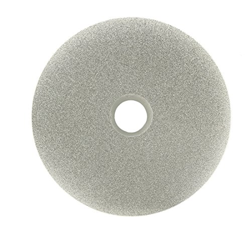 Sourcingmap 100mm 4-inch Grit 180 Diamond Coated Flat Lap Disk Wheel Grinding Sanding Disc from Sourcingmap