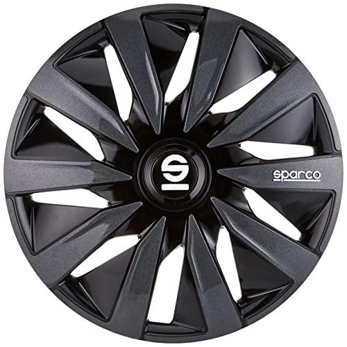 Sparco SPC1591BKGR wheel covers Lazio 15-inch black/grey from Sparco. found at Amazon Marketplace