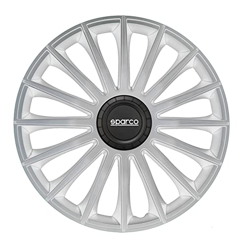 Set Sparco wheel covers Torino 16-inch silver from SPARCO