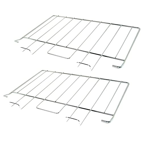SPARES2GO Grill Shelf Rack for Rangemaster Oven Cooker (450 x 334 mm, Pack of 2) - Fitment List B from SPARES2GO