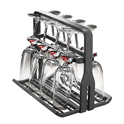 SPARES2GO Universal Wine Glass Basket Dishwasher Rack (8 Glasses) from SPARES2GO
